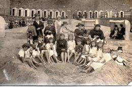 SAINT MALO  CARTE PHOTO ECRITE EN 1918 - Saint Malo