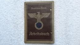 Arbeitsbuch Deutsches Reich 1944 Ausweis - Documents