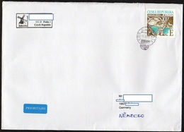 Tschechische Republik 2018  Brief/ Lettre  Europa ; MiNr. 977 Europa:Brücken   ; Postage International 3.70€ !! - Tschechische Republik