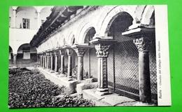Cartolina - Aosta - Chiostro Del Collegio Delle Orsoline - 1920 Ca. - Italia