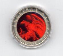 LIBERIA 10 DOLLAR 2002 CN HOLOGRAM EAGLE AREND - DAMAGE ONLY ON CAPSEL - Liberia