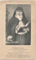 Izegem / Brugge / Doodsprent / Bidprent / Abdis Klooster Van De Arme Klaren Coletinnen / 1871 - Devotieprenten