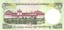 Bhutan P.32a 100 Ngultrum 2006 Unc - Bhutan