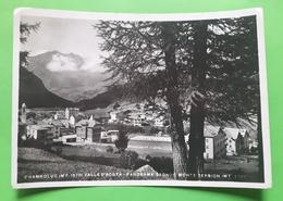 Cartolina - Champoluc - Valle D'Aosta - Panorama - 1938 - Italia