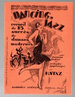 (musique) Recueil DANCING JAZZ  (15 Succès)  1926 (PPP11748) - Jazz