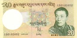 Bhutan P.30a 20 Ngultrum 2006   Unc - Bhutan