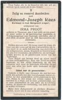Torhout / Oostende / Doodsprent / Bidprent / Oorlogsslachtoffer / 1919 - Devotieprenten