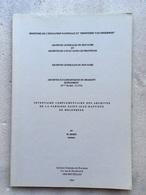 Inventaire Complementaire Des Archives De La Paroisse Saint-Jean-Baptiste De MOLENBEEK - 1984 - Brabant - Bruxelles - Molenbeek-St-Jean - St-Jans-Molenbeek