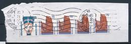 BRD BZ 65 Rollenstempel RST A 2000 3x Mi. 1469 + Mi. 1469 R I (Nr. 1260) Helgoland + Mi. 1398 Nofretete - Lettere