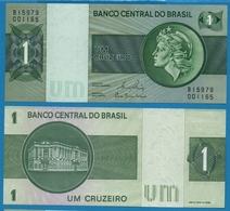 BRASIL 1 CRUZEIRO  ND (1980)  Serie B15979 0011xx  P# 191Ac - Brésil