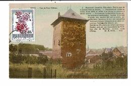 CPA-Carte Postale-Belgique-Amay- Tour Du Vieux Château-1960-M14721 - Amay