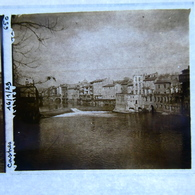 Plaque POSITIVE,  CARCASSONNE, CASTRES, ST GIRONS  Et Environs  ( Boite L ) - Stereoscopic