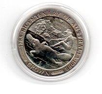ISLE OF MAN CROWN 1988 CN DUCKBILL EENDENBEK  -  DAMAGE ONLY ON CAPSEL - Munten