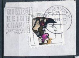 BRD BZ 12 MWST 1999 Gib AIDS Keine Chance Telefonberatung Mi. 1972 Berthold Brecht Schriftsteller Theater - Lettere