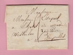 Fr 32  Départements Conquis  92 Termonde 35mm.  Avec Texte De 1811 - Marcophilie (Lettres)