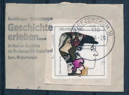 BRD BZ 10 MWST 1999 Geschichte Erleben Haus Der Geschichte Bonn Mi. 1972 Berthold Brecht Schriftsteller Theater - Lettere
