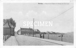 Rue De La Gare Et Champ De Courses - Helchin - Helkijn - Spiere-Helkijn