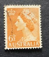 1953 Australia Used Stamp SG262a QE 11 No AUS-105b - Oblitérés