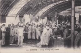 Bv - Les Belles Cpa De LORIENT - Lavage Du Linge Au 3è Dépôt - Lorient