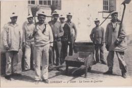 Bv - Les Belles Cpa De LORIENT - 3è Dépôt - La Corvée De Quartier - Lorient
