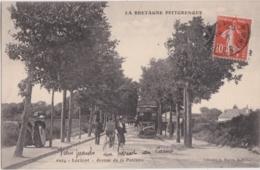 Bv - Les Belles Cpa De LORIENT - Avenue De La Perrière (avec Le Tramway) - Lorient