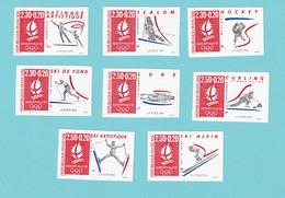 1990/1991. YT 2633,2676/2680,2709/2710, MNH - France