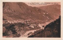 CPA - La CONDAMINE - Vue Générale Et Forts De Tournoux - Francia