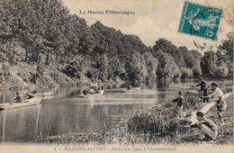 94 - Série La Marne Pittoresque  N° 1 Maison Alfort  La Marne à Charentonneau -Pêche à La Ligne - Maisons Alfort