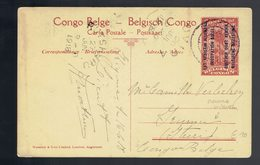 CP 11 Oc. Ruanda-Urundi 10c Kigoma 16 6 18 => Irumu /   Uvira 20 JUI Et Rutshuru 27 JUN 1918 Courrier Intérieur - Entiers Postaux