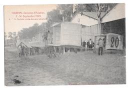 Semaine Aviation De Tournai 5-14 Septembre 1909 M. Paulhan Monte Dans Son Aéroplane Climan Ruyssers Non Circulée 4 - Airmen, Fliers