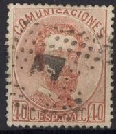 1872 ESPAGNE Obl 124 - 1872-73 Königreich: Amédée I.