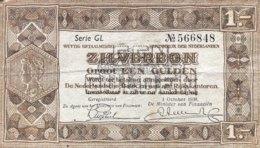 Netherlands 1 Gulden, P-61 (1938) - Very Fine - [2] 1815-… : Regno Dei Paesi Bassi