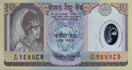 Nepal 10 Rupees, P-45 (30.9.2002) - UNC - Nepal