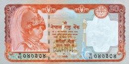 Nepal 20 Rupees, P-47 (2002) - UNC - Nepal