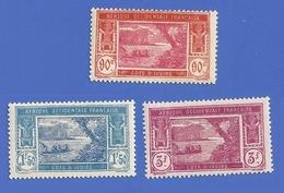 COTE D'IVOIRE 81 + 82 + 83 NEUFS ** LAGUNE EBRIE - Unused Stamps