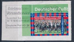 BRD BZ 24 MWST 1997 Briefmarken Versandservice Deutsche Post Mi. 1958 Eckrand Bayern München Fussball Deutscher Meister - Lettere