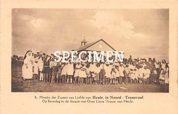 8 Missiën Der Zusters Van Liefde Van Heule, In Noord-Transvaal - Op Kerstdag In De Locatie Van OLV Van Heule - Kortrijk