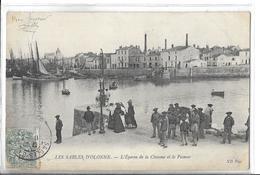 LES SABLES D OLONNE   L Eperon  De La Chaume  Et Le Passeur  Personnages   DEPT 85 - Sables D'Olonne