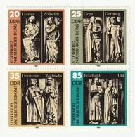 DDR 1983 Michel Nr.2808-11 Viererblock ** Postfrisch, Top Erhalten, Stifter Des Naumburger Doms - Ungebraucht