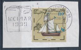 BRD BZ 99 MWST 1998 Weimar 1999 Kulturhauptstadt Europa Mi. 2022 Tag Der Briefmarke Postschiff - Lettere