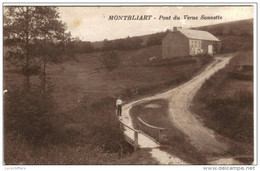 Montbliart - Pont Du Verne Sonnette - Petite Animation - 2 Scans - Sivry-Rance