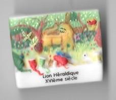 Fève  Animal  Lion  Héraldique  XVI ème  Siècle - Animaux