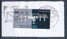 BRD BZ 68 MWST 2004 Schreib Mal Wieder Briefumschlag Mi. 2433 ISS Internationale Raumstation - Lettere
