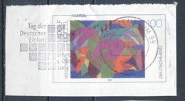 BRD BZ 99 MWST 2004 Tag Der Deutschen Einheit Erfurt 3. Oktober 2004 Gemälde Komposition A. Hölzel - Lettere