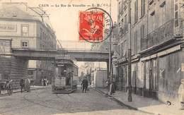 14-CAEN-LA RUE DE VAUCELLES - Caen
