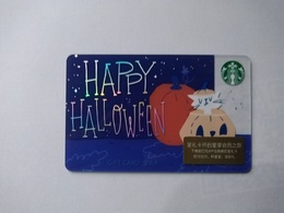 China Gift Cards, Starbucks, 100 RMB, 2018 (1pcs) - Cartes Cadeaux