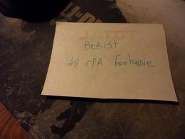 BOB137-LOT 48  CPA FANTAISIE    - Port Compris Pour France-Tous Les Scans Disponibles - Cartes Postales