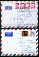 5920 - BUND ~ VR CHINA - 4 Luftpostbriefe Nach Shanghai, Alle Mit Ankunfts-Stempel - Lettere