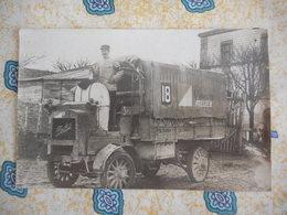 Carte Photo - Camion Berliet - + Cachet Au Dos - War 1914-18