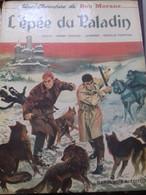 L'épée Du Paladin GERALD FORTON HENRI VERNES Dargaud 1967 - Bob Morane